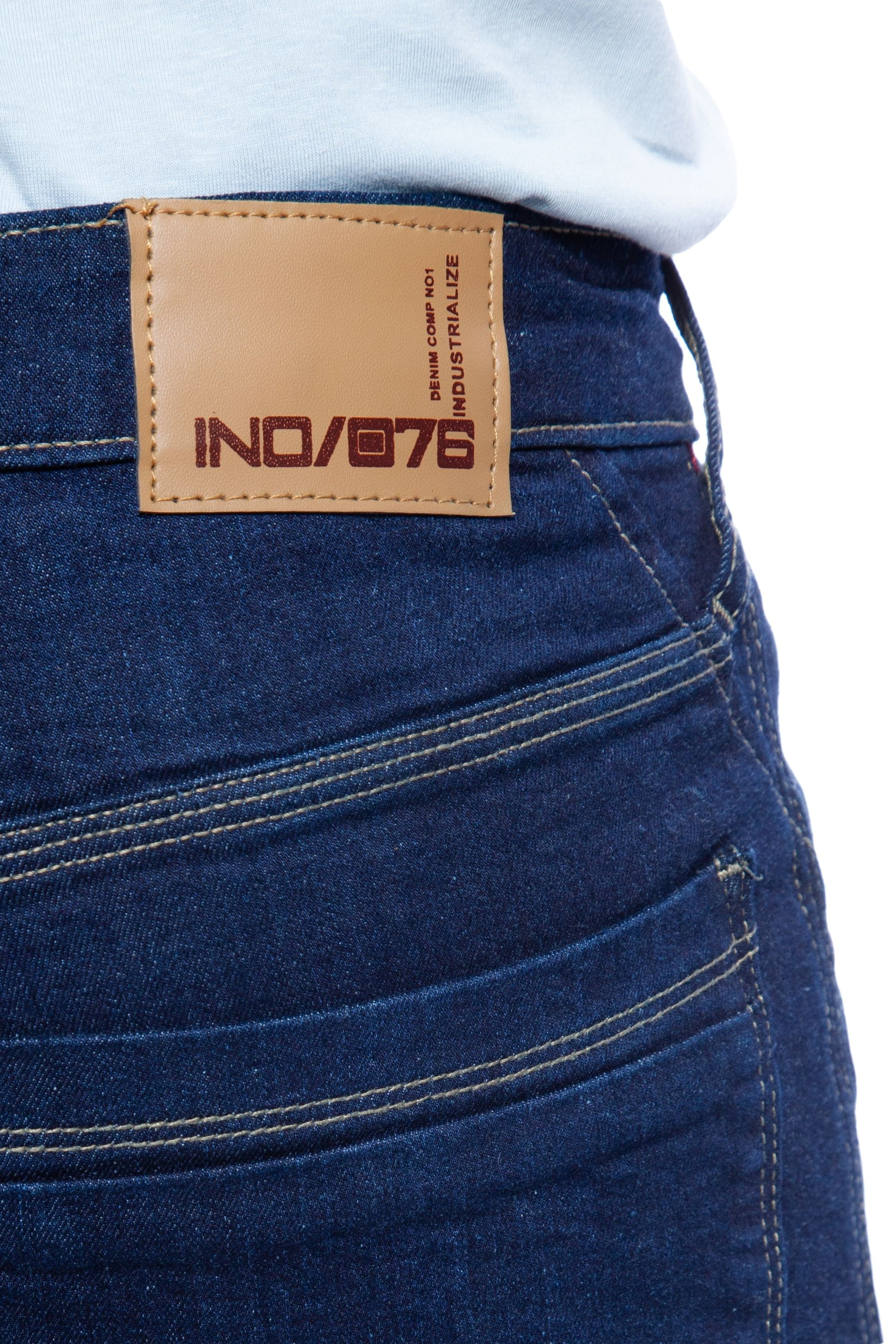 Leave your jeans inside out and dry them on a low temperature, but remember to separate lightweight clothes, like sheets or T-shirts, from heavyweight garments, like towels, or you guess it, denim.