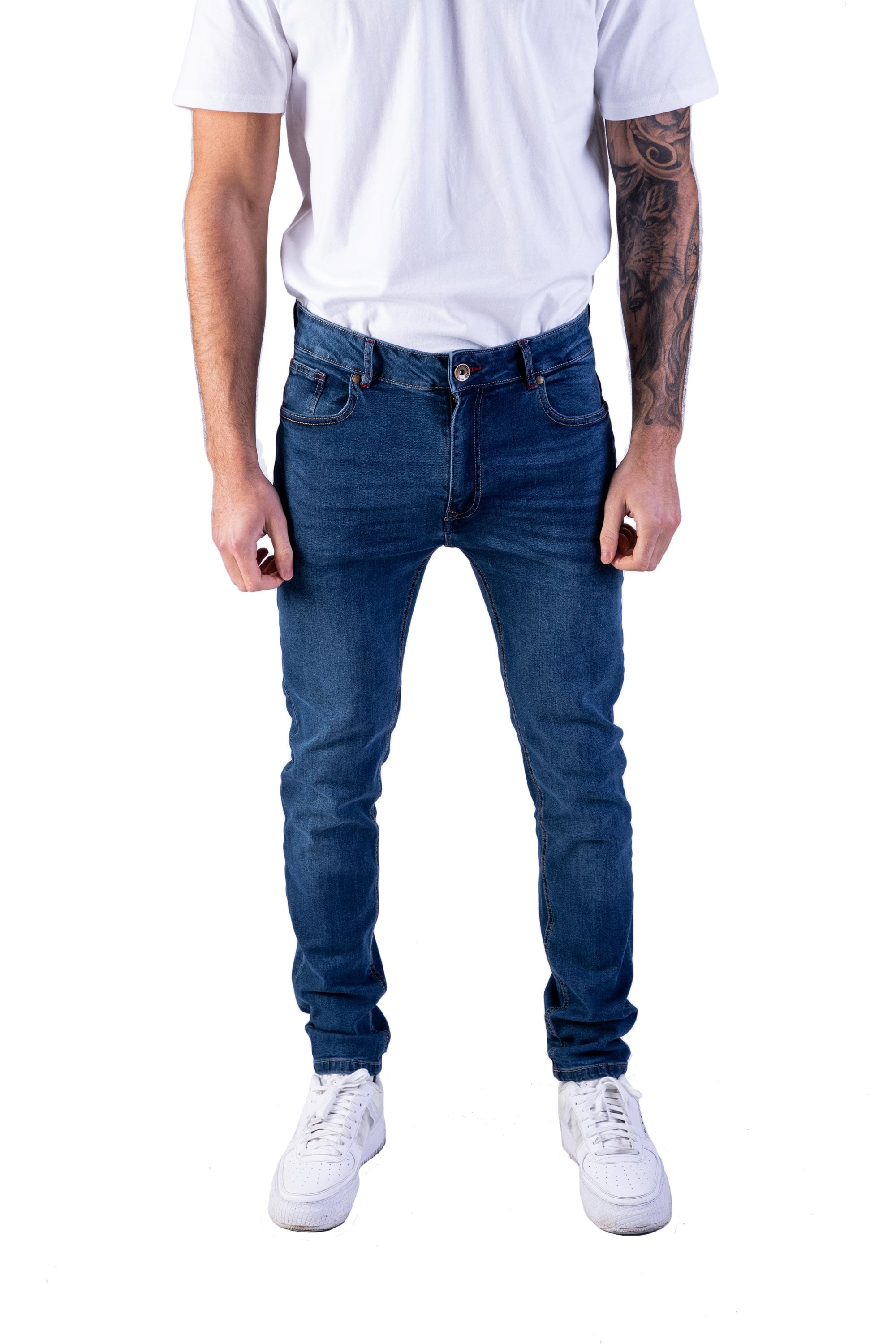 Men's Skinny Jeans at True Religion feature a slim tapered fit in the legs. Shop men's designer skinny jeans with Free Shipping at True Religion. True Religion.