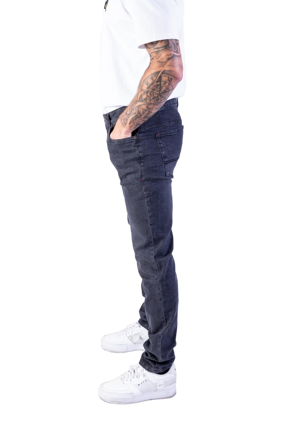 French Connection Mens Striped Trousers Marine/Light Grey £ Save £ Whether you are relaxing at home or jogging around the park we have a range of mens trousers in a variety of styles and fabrics to suit any occasion or task. Browse over 60 styles of mens joggers.